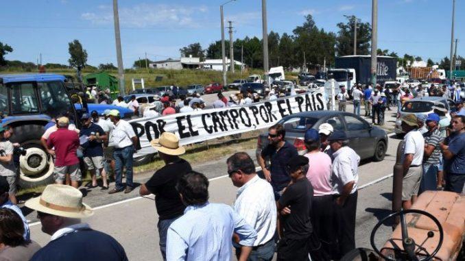 La protesta rural en Uruguay y los límites del desarrollo agropecuario