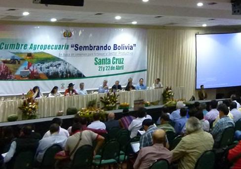Resultados Cumbre Agropecuaira Bolivia